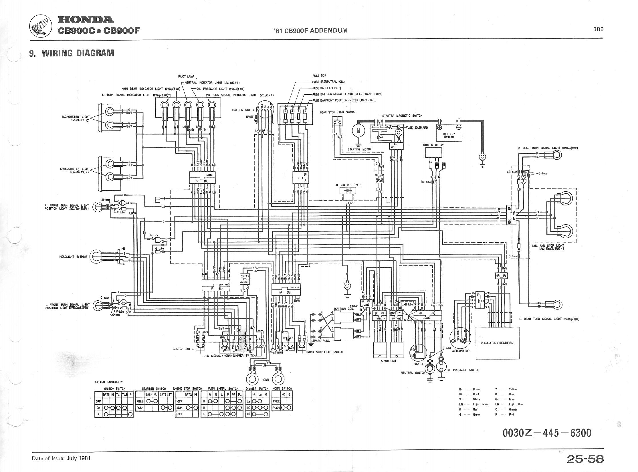 81 Honda Wiring Diagram Another Blog About 1981 Yamaha Tt500 Ignition Index Of Publicdocs Cb900c Manual